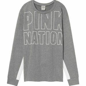NIP VS PINK NATION PULLOVER